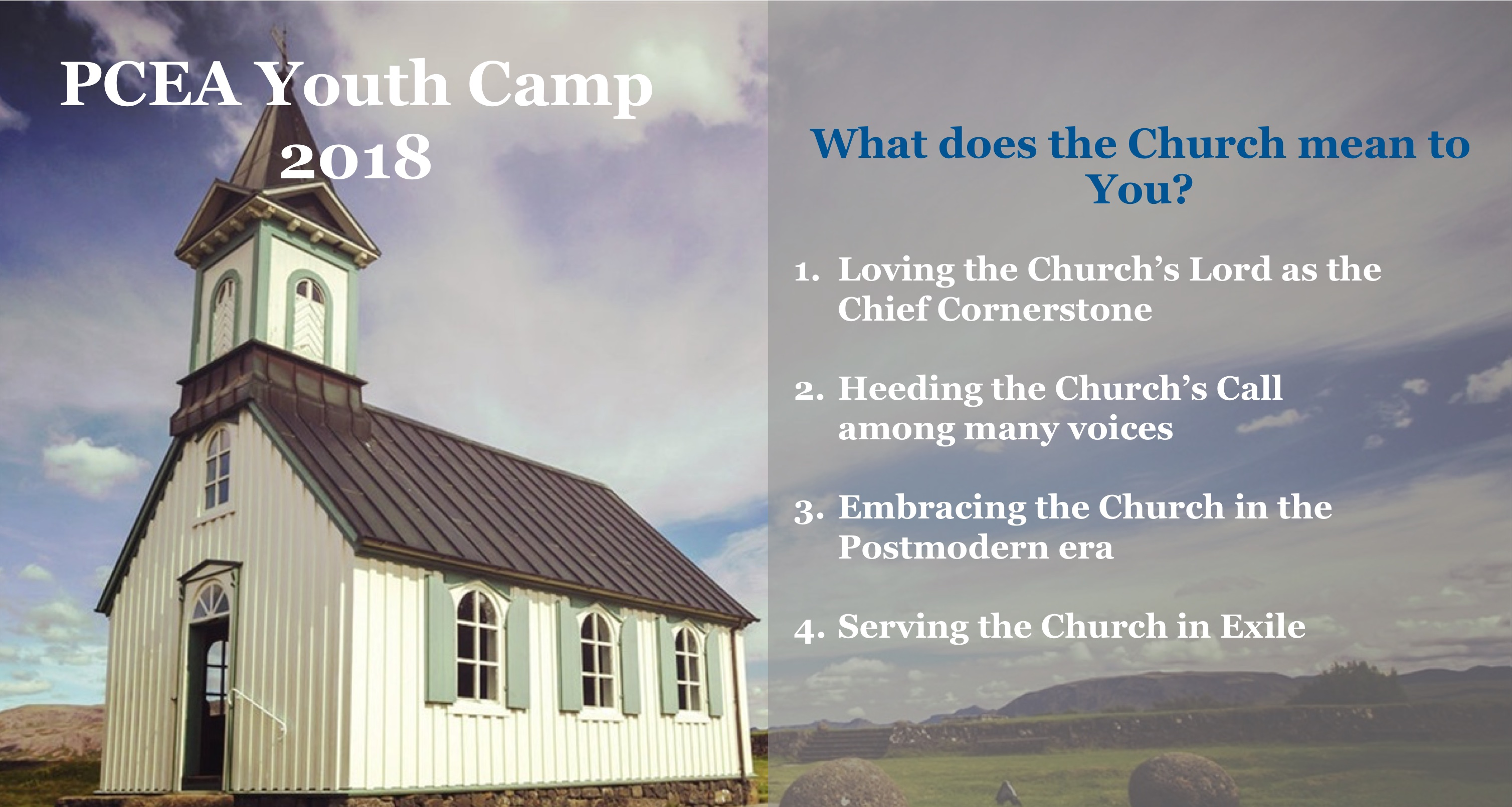 PCEA Youth Camp 2018